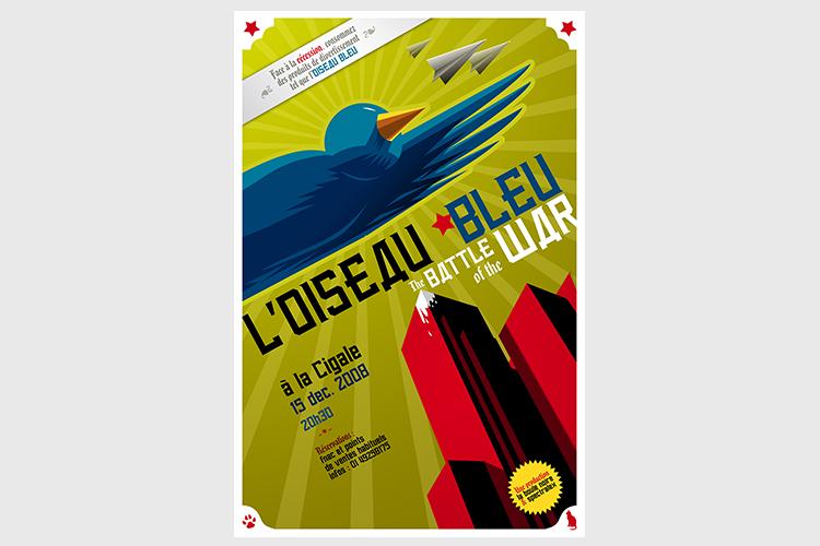 Oiseau-Bleu-Affiche